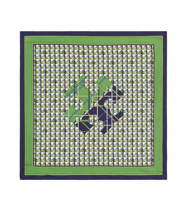 真絲圍巾,3,390元。圖/Tory Burch提供