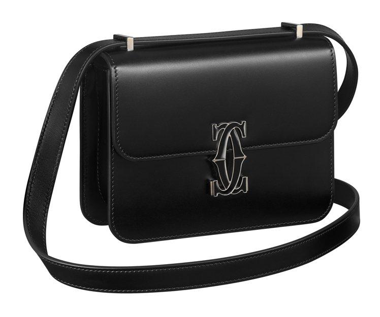 Double C de Cartier系列Nano款,黑色小牛皮,約62,500...