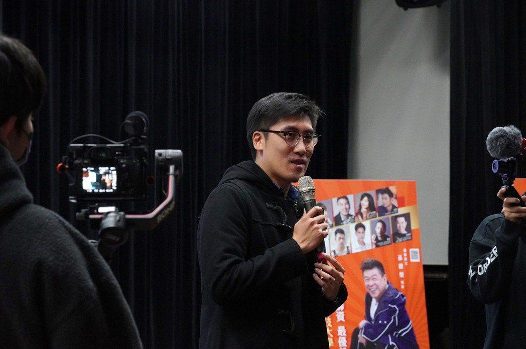 台北海大國合處處長林威克笑說老婆也是華崗人。圖/台北海大提供
