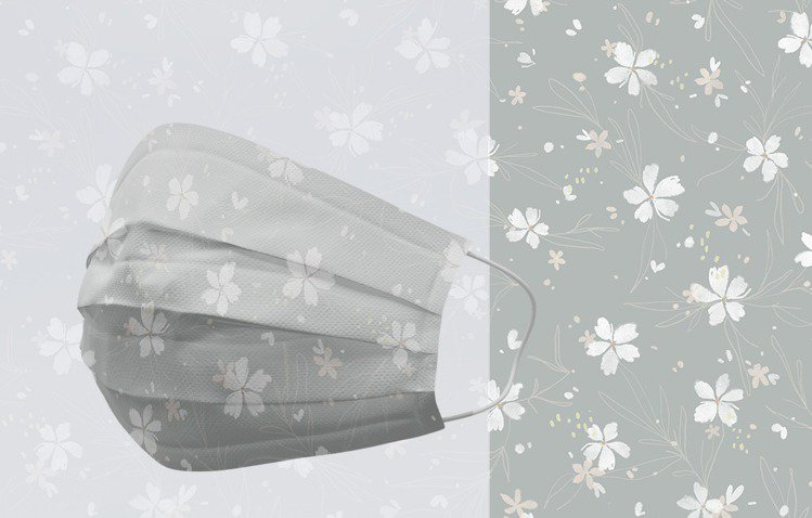 Pinkoi推出Meow Illustration三層防塵口罩(成人用)全包9盒...