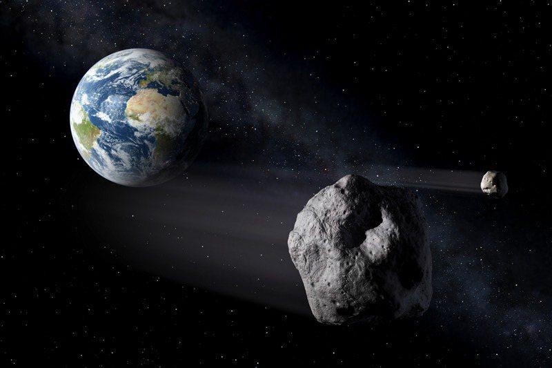 歐美太空總署近日模擬小行星撞擊地球的「末日劇本」,結果發現,就算有六個月的應變時間,以當前技術仍無法阻止災難降臨。圖/ESA - P.Carril