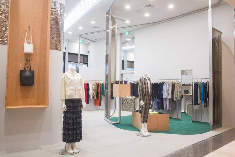微風南山ZUCCa女裝店於5月5日開幕。圖/ZUCCa提供