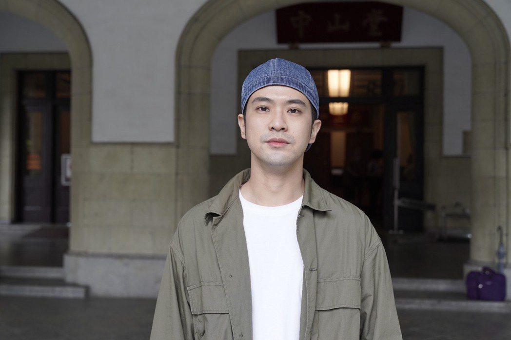 顏毓麟出席「綠島金魂」開鏡,坦言挑戰受刑人角色壓力大。圖/拙八郎提供
