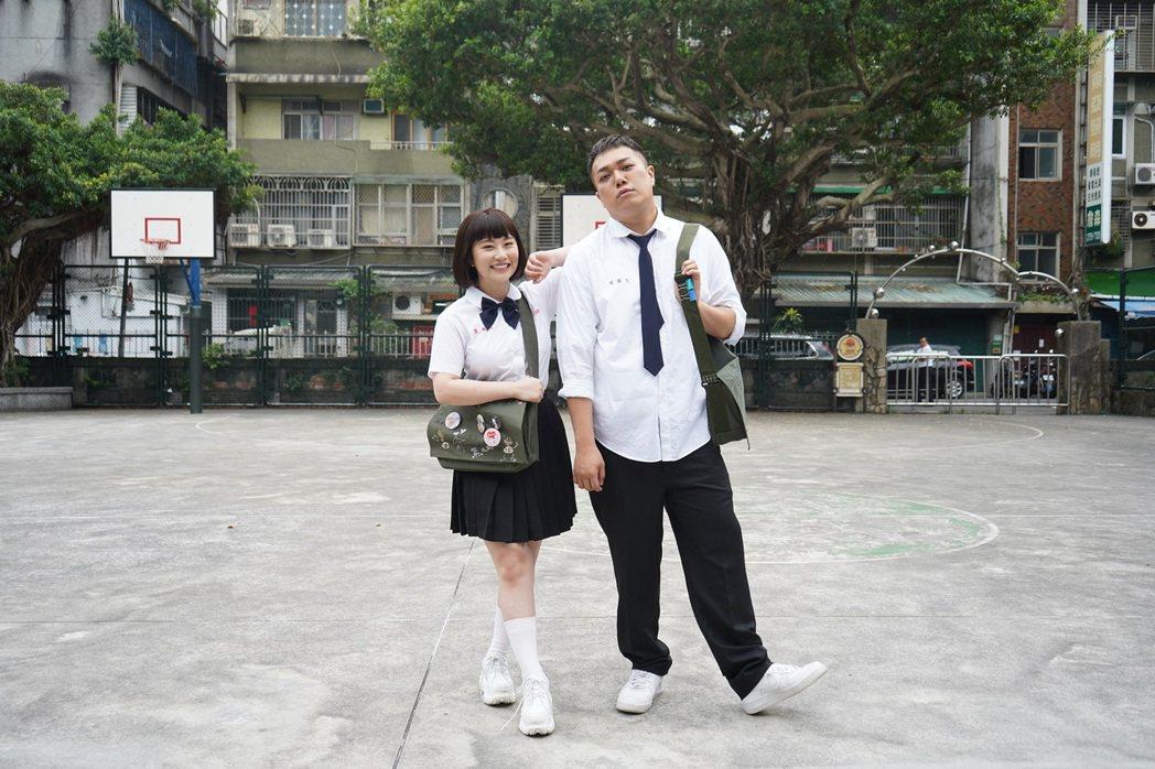 關韶文(右)和焦凡凡合作推出單曲。圖/關韶文經紀人提供
