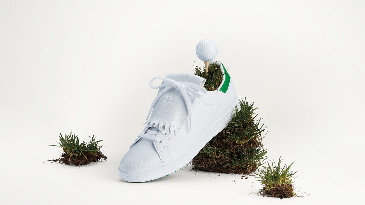 adidas Golf X Stan Smith經典高爾夫球鞋4,490元。 圖...