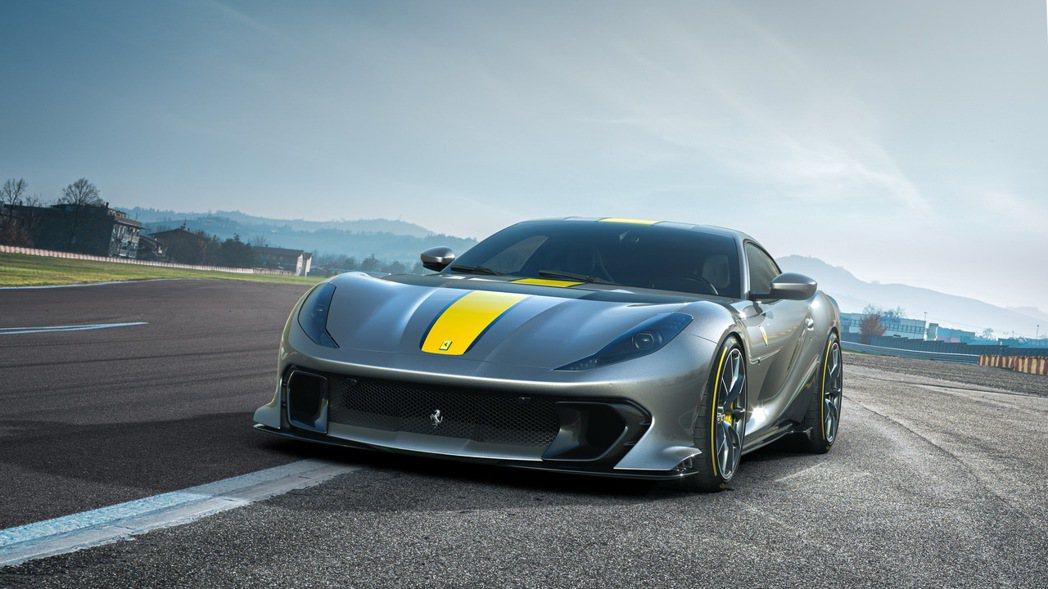 812 Competizione可輸出830匹馬力。 圖/Ferrari提供