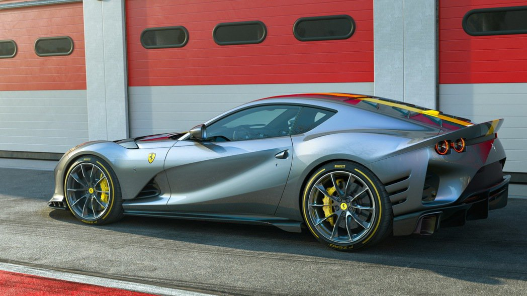 812 Competizione。 圖/Ferrari提供