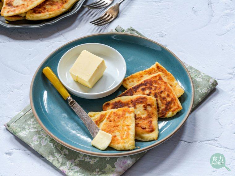蘇格蘭馬鈴薯司康,經常拿來當早餐。 圖片提供/食力