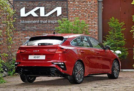 GT車型只剩掀背版了! 小改款Kia K3車系韓國正式開賣