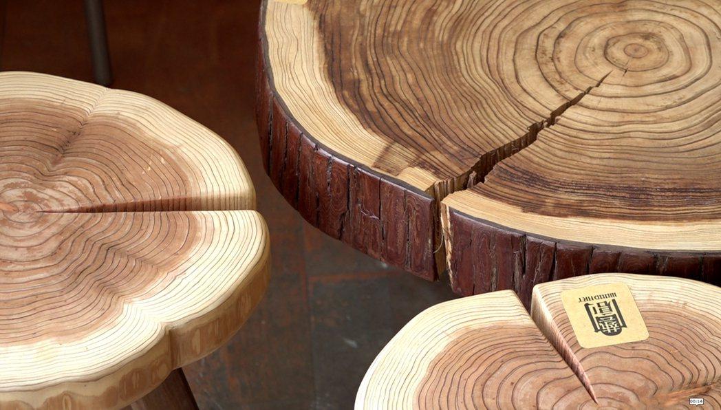 由三名屏科大木設系畢業生組成的「藝創木構」圖隊,對國產材情有獨鍾。他們認為,紋路...