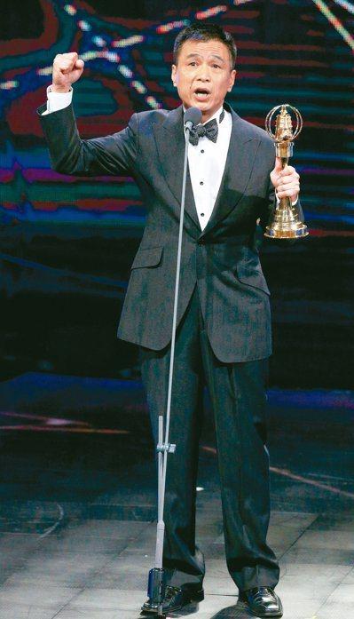 李天柱曾拿過金鐘獎迷你劇集電視電影男主角獎。本報資料照片