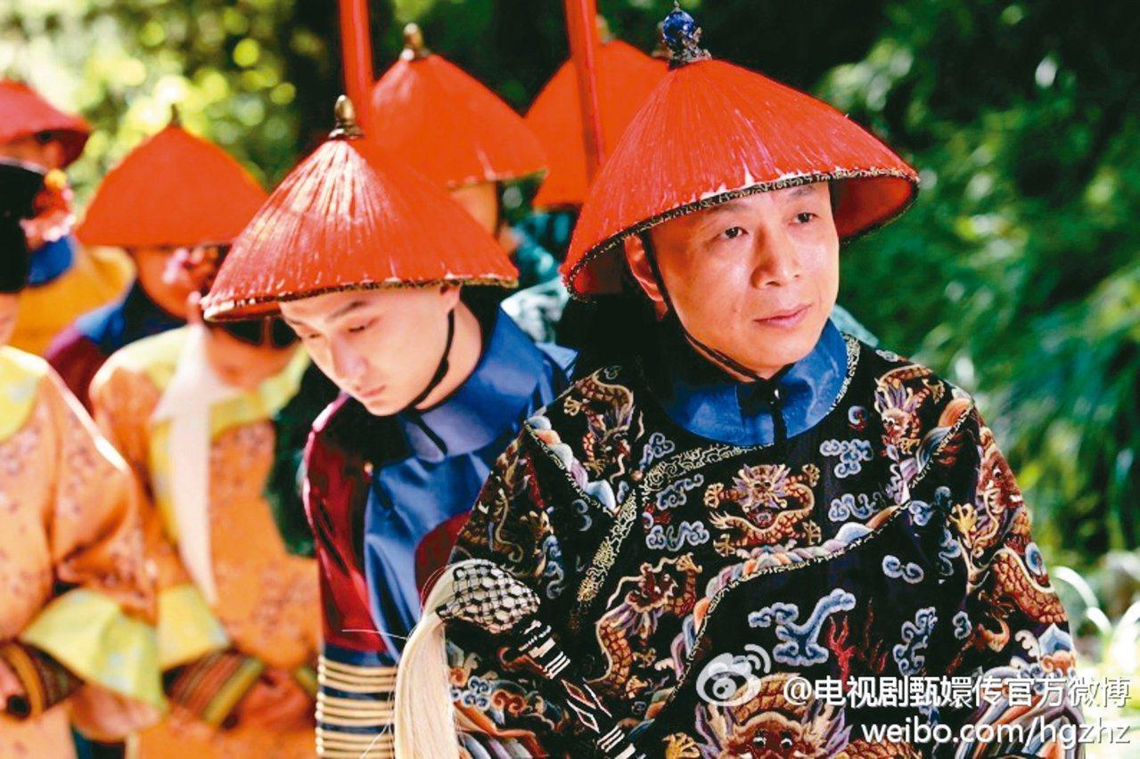 李天柱演出「後宮甄嬛傳」蘇培盛(右一),這個龍套角色曾讓他很糾結,卻也讓他領悟到...
