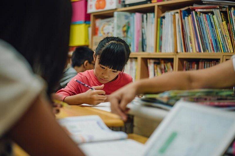 台東「孩子的書屋」提供超過2000個兒童一個避風港。 業者/提供