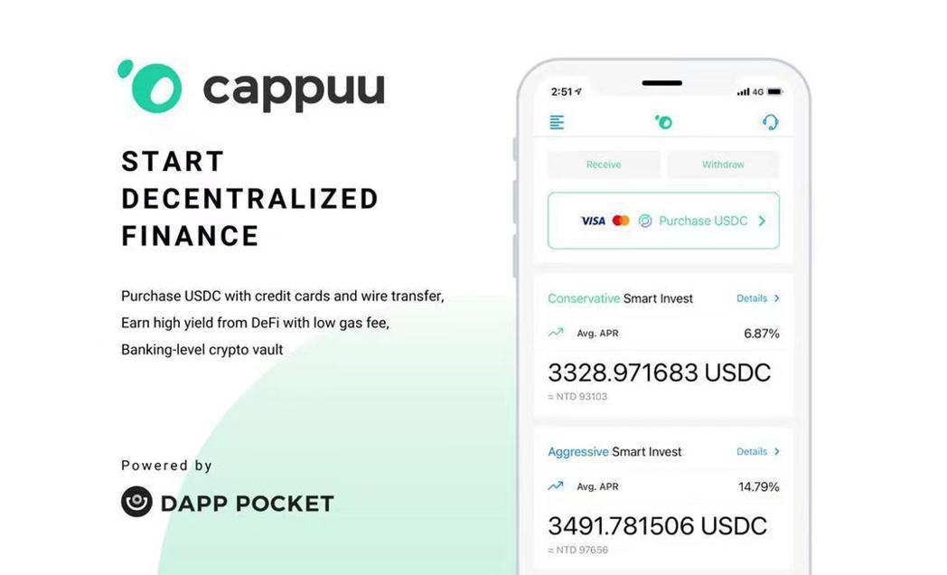 Dapp Pocket公司旗下收益聚合器Cappuu。 Turn Capital...