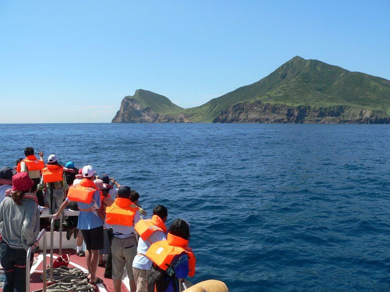 龜山島龜首再傳崩塌 風管處:自然現象