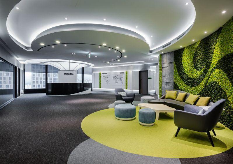 (圖)簡兆芝室內設計作品《Deloitte Taiwan》