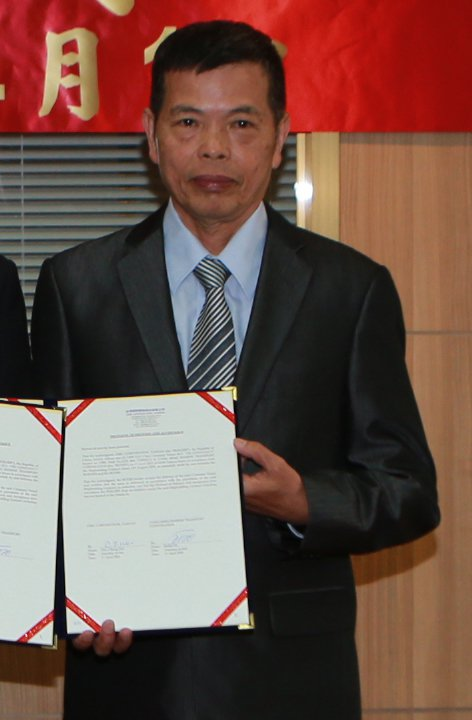 台船新任總經理由副總經理魏正賜出任。記者王昭月/翻攝