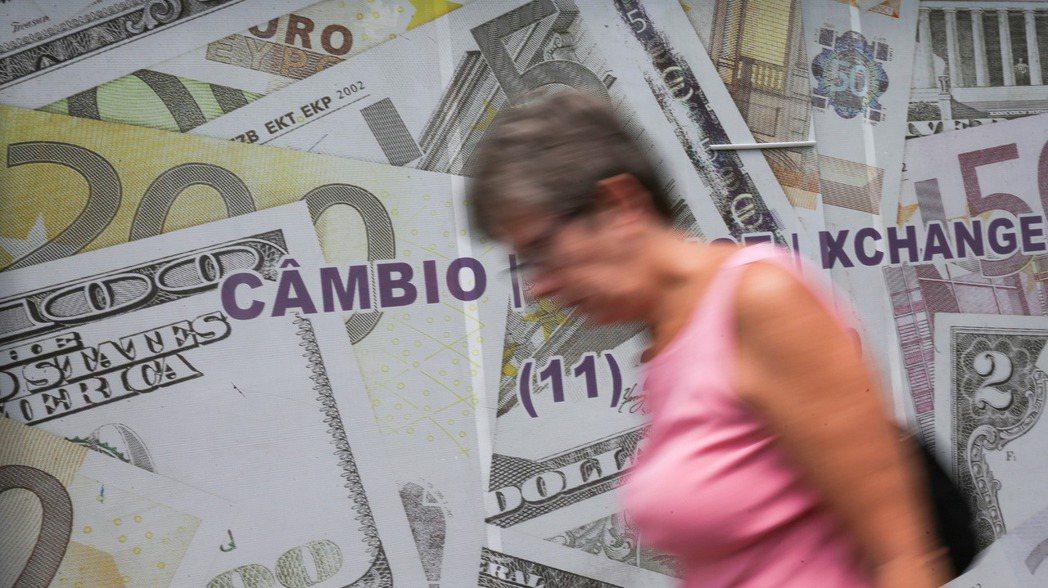 巴西里爾匯率近期強升。(路透)