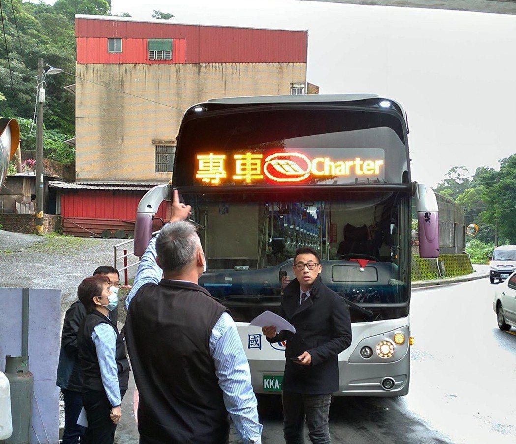 基北第四條中山快捷公車提前至9月通車,直達台北市中心。記者游明煌/翻攝