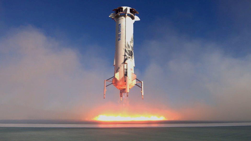 太空探索公司藍源的新謝帕德號。(路透)