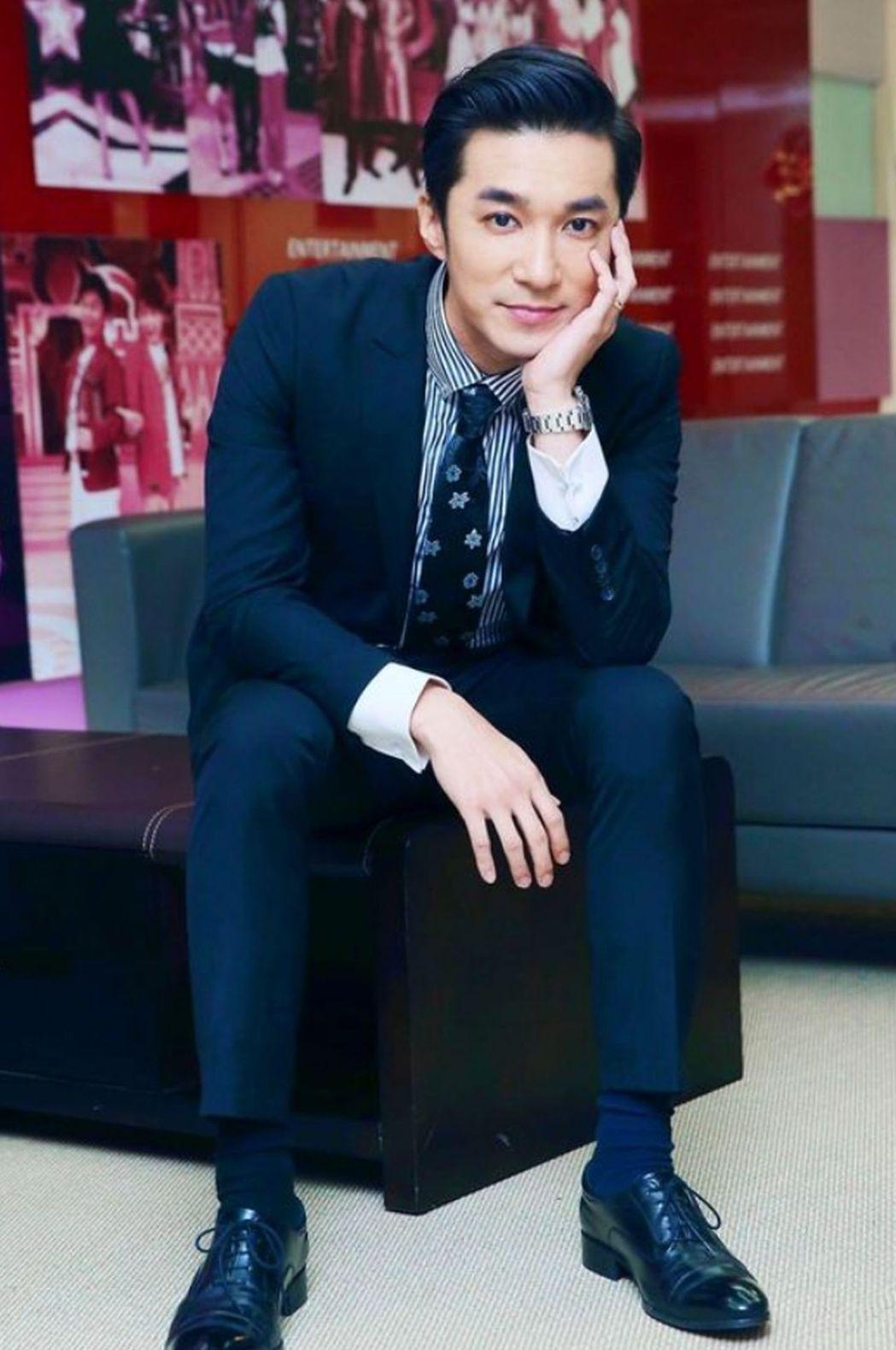 中天主播王又正擔任第一屆「中天新媒體網紅.主播選拔大賽」總決賽評審。圖/中天提供