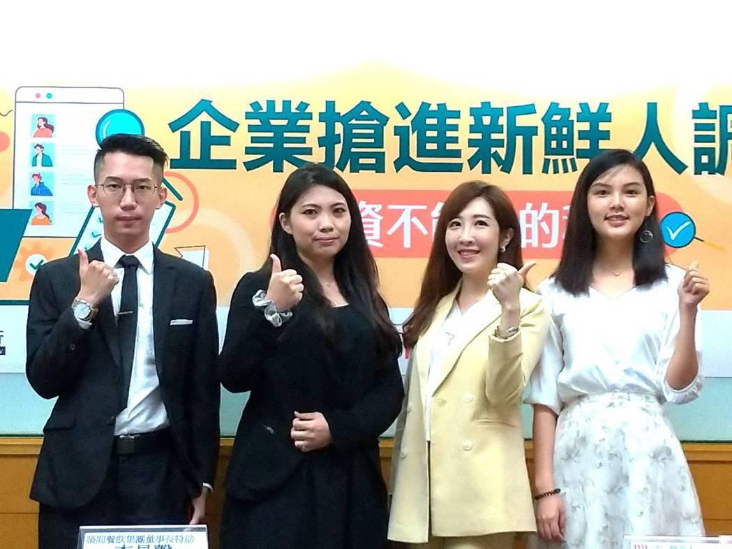 根據1111人力銀行今(6)日公布的「企業搶進新鮮人調查」發現,雖然國內疫情拉警...