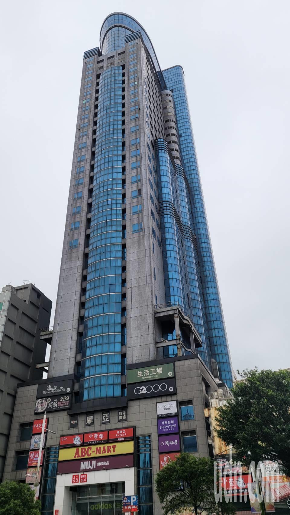 基隆最高樓「基隆皇冠」將標售,房仲看好底價上看20億。記者游明煌/攝影
