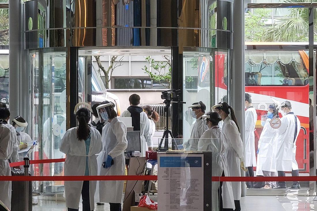 諾富特飯店看飛機促銷讓全台都有居家隔離 台南兩位數
