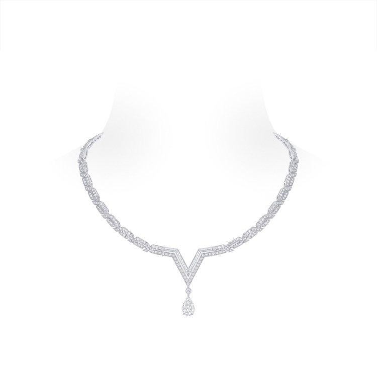 路易威登Pure V鑽石項鍊,920萬元。圖/路易威登提供