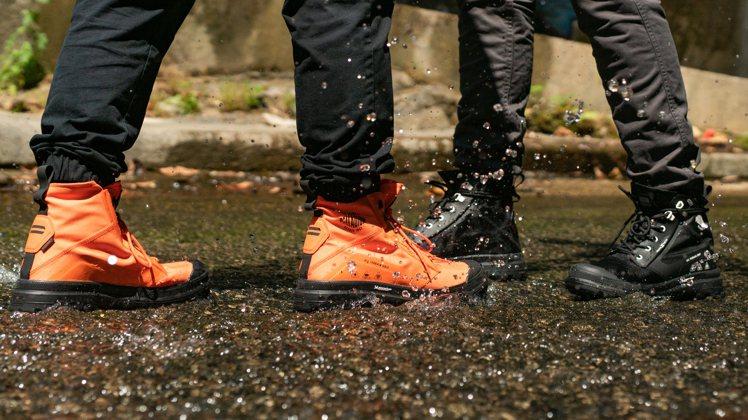 因應梅雨季到來,PALLADIUM也在此刻推出MICHELIN聯名款全天候防水靴...