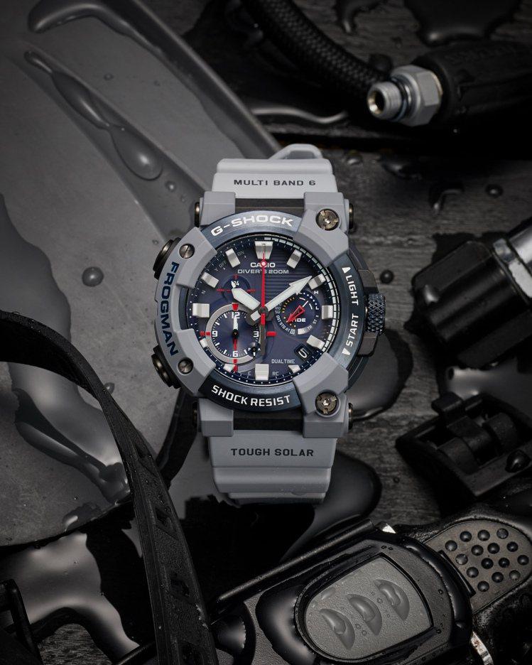 嶄新的GWF-A1000RN腕表,由英國皇家海軍與G-SHOCK聯合設計,靈感取...