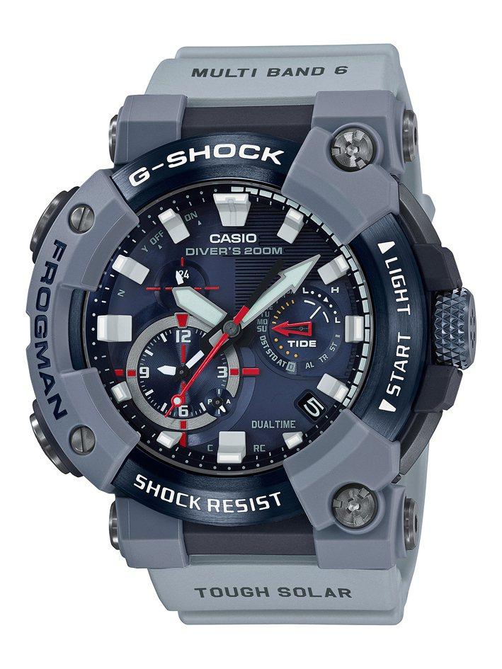 G-SHOCK GWF-A1000RN-8A蛙人表29,000元。圖/Casio...