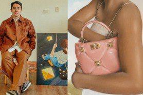 把經典鉚釘變星星 Valentino邀5畫家畫出另一種時尚