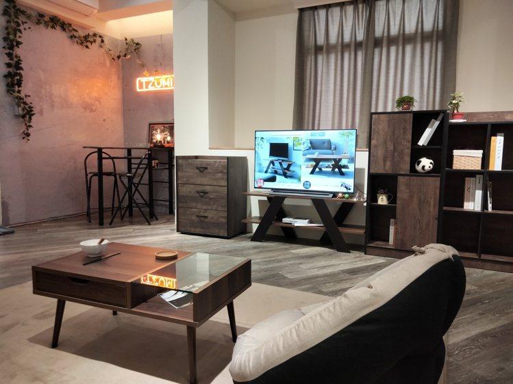 客廳區的設計,代表著生活能夠優雅又Chill。圖/TZUMii厝覓提供
