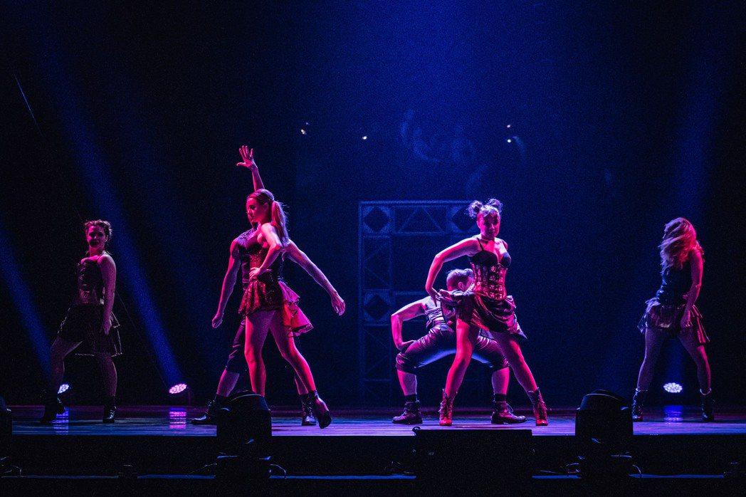 美國大馬戲團首登台灣,隔離21天維持超狂體態。圖/寬宏提供
