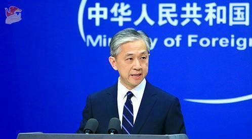 大陸外交部發言人汪文斌。圖源:北京日報