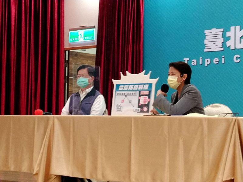 北市衛生局長黃世傑今表示,柯是善意建議,目前全球疫情嚴重,會笑台灣的地方(國家)應該很少。記者林麗玉/攝影