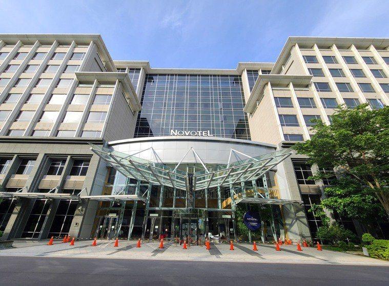 諾富特飯店示意圖。聯合報系資料照