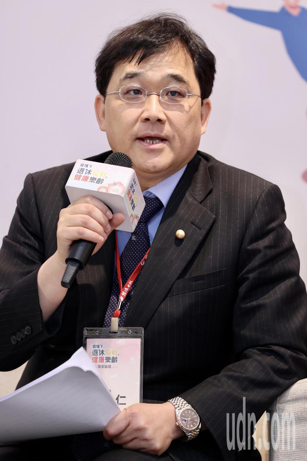 新光醫院副院長洪子仁。記者林俊良/攝影