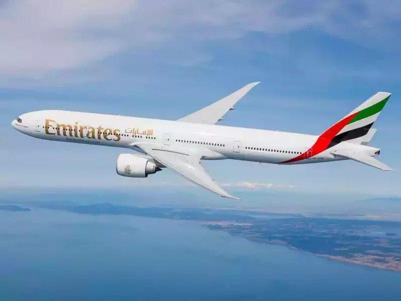 阿聯酋航空示意圖。圖/阿聯酋航空提供
