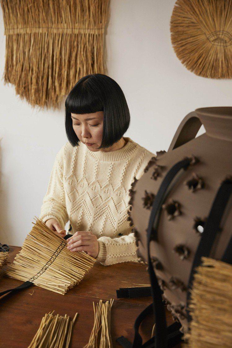 日本藝術家Arko作品在蘇富比展出、拍賣。圖/LOEWE提供