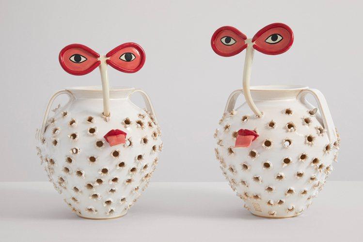 西班牙的Laia Arqueros作品非常有趣,也在紐約蘇富比展出。圖/LOEW...
