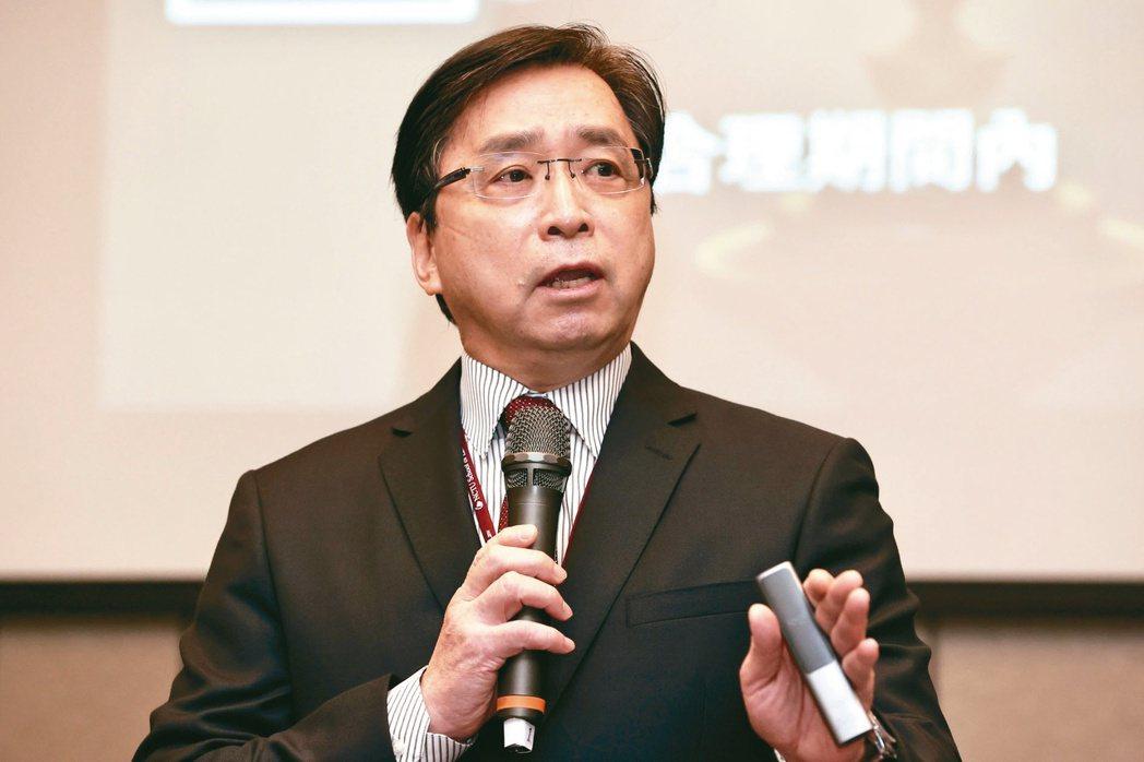 台灣科技法學會理事長劉尚志。記者林俊良/攝影