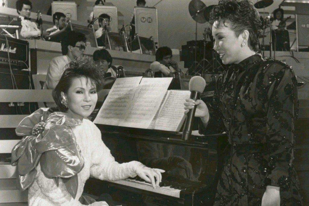 歌手黃鶯鶯(左)、蘇芮(右)。 圖/聯合報系資料照