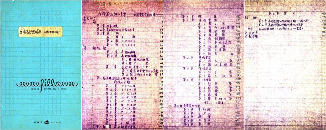 呂炳川的博士論文《台灣高砂族の音樂——比較音樂學的考察》,據聞今年可能將進行翻譯出版計畫。 圖/明立國提供