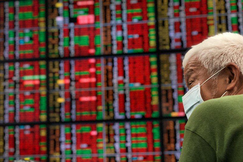 台股今年漲幅驚人。中央社