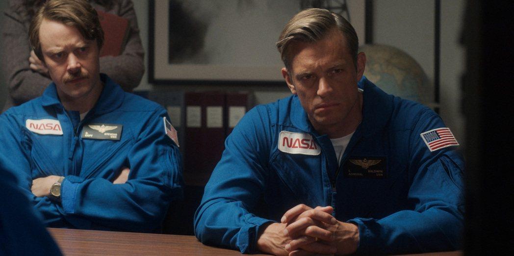 喬爾金納曼回歸「太空使命」第2季,有精彩表現。圖/Apple TV+提供
