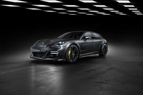 Porsche Panamera馬力暴增車體加寬!TechArt套件登場