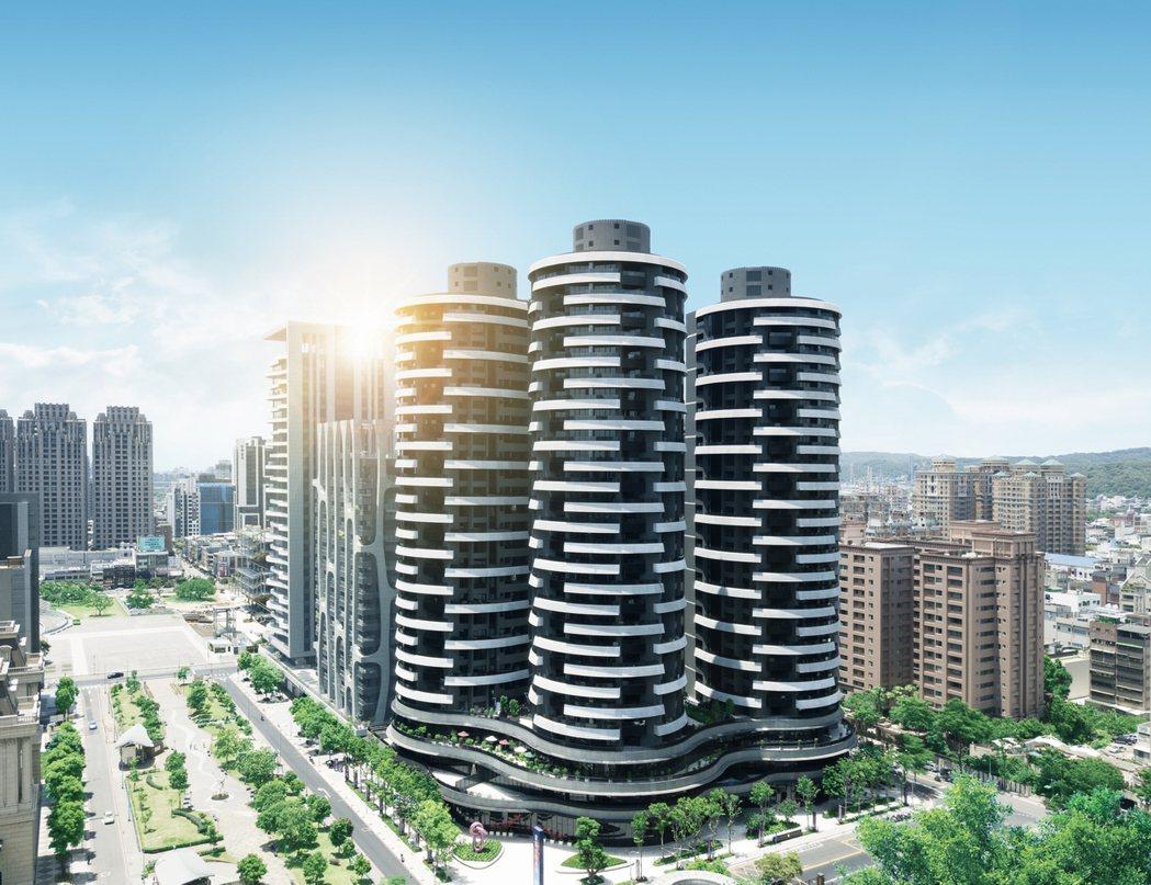 「麗晶花園廣場」是藝文特區豪宅指標案,吸引不少重視居住品質的大台北高端客移居置產...