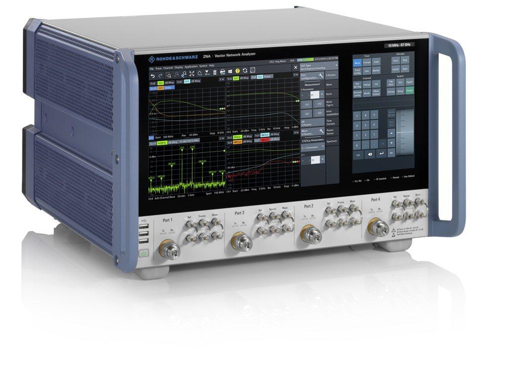 R&S ZNA網路分析儀。 R&S/提供